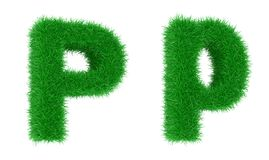 Grass font Stock Photos