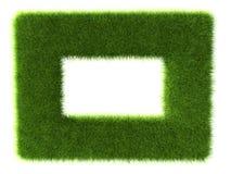Grass frame Stock Images