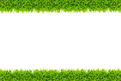 Grass frame isolated Royalty Free Stock Photo