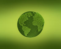 Grass Globe Royalty Free Stock Photo