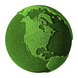 Grass Globe - North America Stock Photography