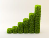 Grass graph Stock Images