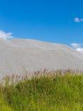 Grass gravel sky Stock Photos