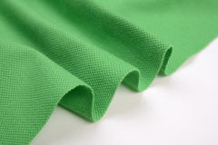 Grass green cotton cloth Stock Image