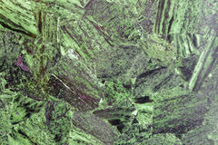 Grass-green superior natural stone material with wonderful patterns. Advanced color natural stone material. This stone material is very expensive, so cut very stock photo