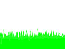 The Grass Is Greener. Vector illustration of a cross sectioned plane of grass Stock Photo