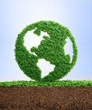 Growing clean eco planet Earth concept royalty free stock photography