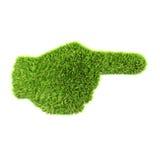 Grass hand Stock Photo