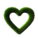 Grass heart Royalty Free Stock Photo