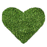 Grass Heart Shape Stock Photos