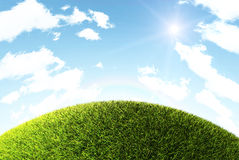 Free Grass Hill Royalty Free Stock Photo - 14208495