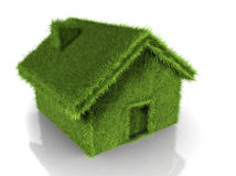 Grass house Royalty Free Stock Images