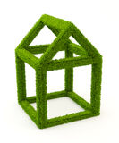 Grass house Royalty Free Stock Photo