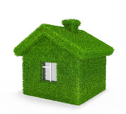 Grass house Stock Images