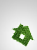 Grass house Royalty Free Stock Image