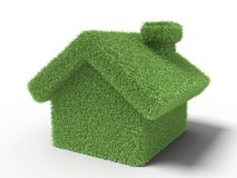 Grass house Royalty Free Stock Photography