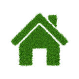 Grass house Stock Photos