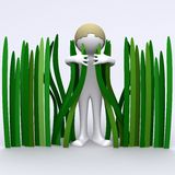 Grass Hugger Royalty Free Stock Photos
