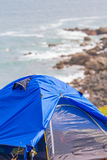 Grass Island in Hong Kong - Camp Site Stock Photos
