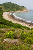 Grass Island in Hong Kong Royalty Free Stock Photo