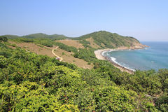 Grass island in hong kong Royalty Free Stock Photography