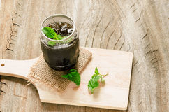 Grass jelly Royalty Free Stock Photos