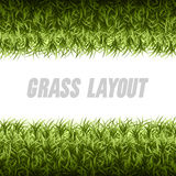 Grass Layout Stock Photography