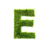 Grass letter Stock Photo