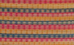 Grass mat background texture Stock Photos