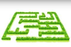 Grass Maze Stock Photo