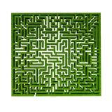 Grass maze Royalty Free Stock Photos