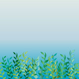 The grass near the water. Seamless pattern Royalty Free Stock Image