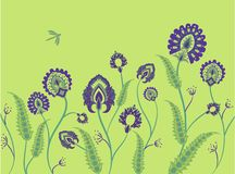 Grass ornament vector Stock Images