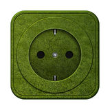 Grass outlet Royalty Free Stock Images