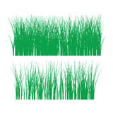 Grass  outline silhouette Royalty Free Stock Photos