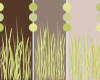 Grass panels background Royalty Free Stock Photos