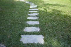 Grass path Royalty Free Stock Photography