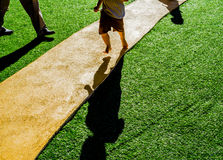 grass path way . Stock Images