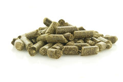 Grass pellets Royalty Free Stock Images