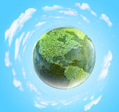 Grass planet Royalty Free Stock Photo