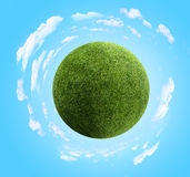 Grass planet Stock Photography