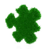Grass puzzle Royalty Free Stock Image