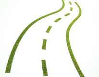 Grass road Royalty Free Stock Images