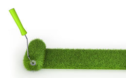 Grass roller Royalty Free Stock Photos