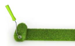 Grass roller Royalty Free Stock Photos