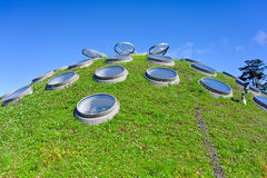 Grass roof Stock Image