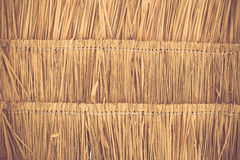 Grass roof texture background Stock Image