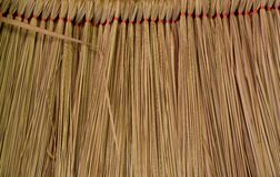 Grass roofs Stock Photography