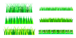 Grass Set Royalty Free Stock Images