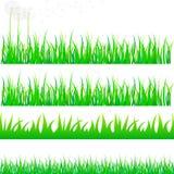Grass set Stock Photo